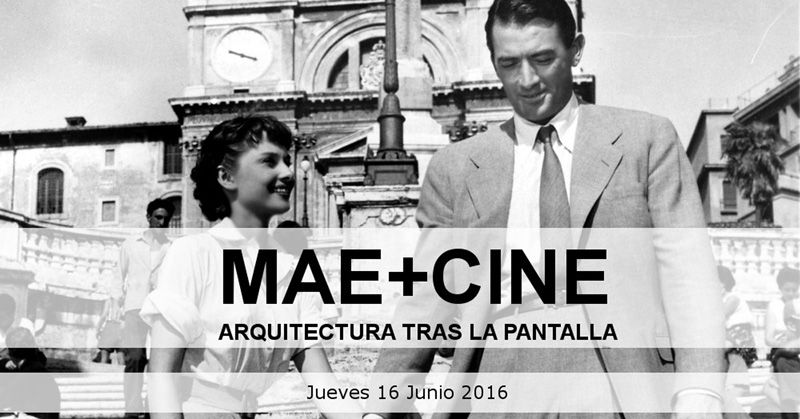MAE + CINEMA. Architecture behind screen.
